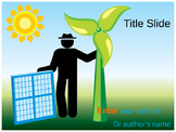 Solar Energy PPT Template