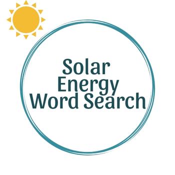 Solar Energy Word Search