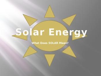 Solar Energy and Heat Transfer