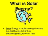 Solar Energy as an Alternative Energy Source PowerPoint