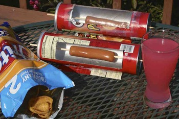 Solar Oven / Hot Dog Cooker / Transfer of Energy