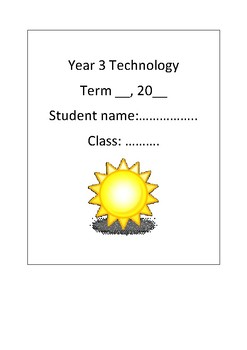 Solar Oven Project - Student Booklet (Technology)