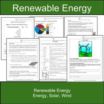 Solar Power, Wind Power, & Renewable Energy