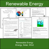Solar Power, Wind Power, & Renewable Energy