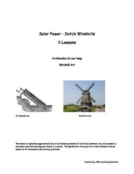 Solar Power - Windmills