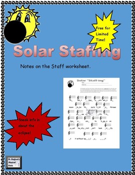 """Solar """"Staff-ing"""": Eclipse-Themed Notes on the Staff page"""
