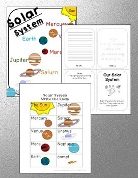 solar system model template planets space craft projects by peas