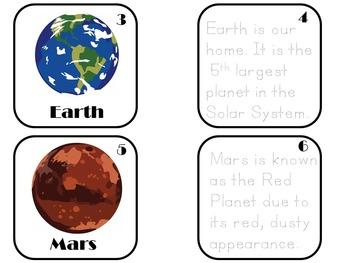 Solar System Kindergarten | Solar System Activity