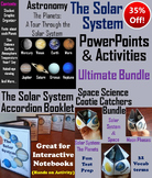 Solar System and Planets Activities and PowerPoints Bundle