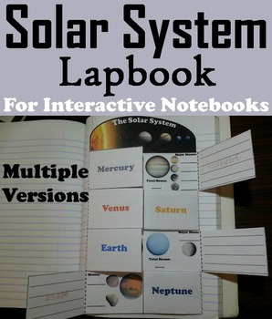 The Solar System Project: Planet Research Foldable (Astron