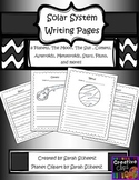 Solar System Writing Paper - Research