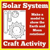 Solar System Worksheet Activity