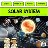 Solar System-Phases of the Moon, Neil Armstrong, Sally Ride & Flip Book