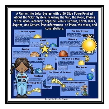 Solar System-Planets, Lunar Cycle, Neil Armstrong, Sally ...