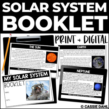 Solar System Non-Fiction Booklet