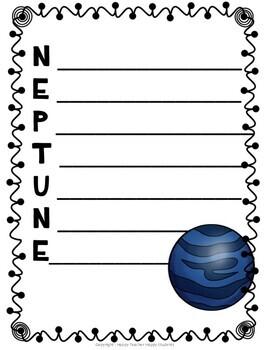 solar system acrostic poem - photo #8