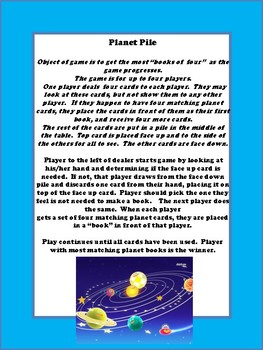 Solar System: 3 Games in One..Fishing for Planets, Planet War and Planet Pile