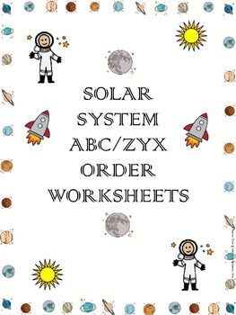Solar System ABC/ZYX Order