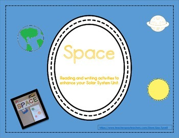Space Flip Book, Non-fiction reader and Activities