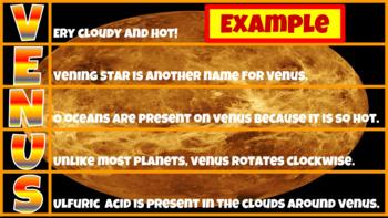 Solar System Activities