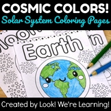 Solar System Activities: Cosmic Colors! Solar System Color