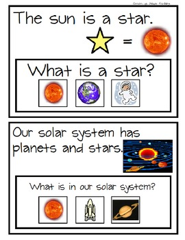 Solar System Activities - Extended Standards