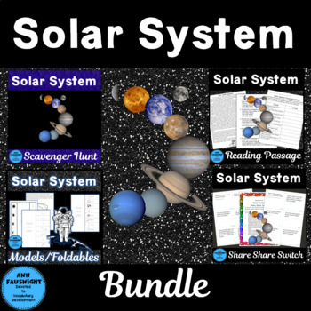 Solar System Activities Pack