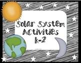 Solar System Activities K-2