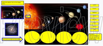 Solar System Activity for Google Classroom