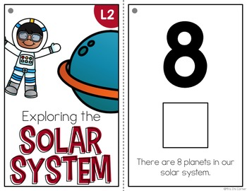 Solar System Adapted Book { Level 1 and Level 2 } All About the Planets