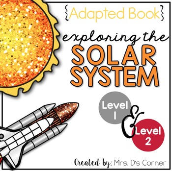 Solar System Adapted Book { Level 1 and Level 2 } All Abou