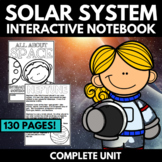 Solar System and Planets Interactive Notebook Unit | Space