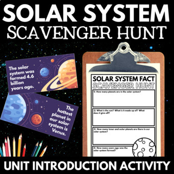 Solar System: An Interactive Notebook Unit on Space and As