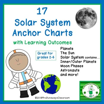 Solar System Anchor Charts
