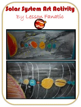 Solar System Art Lesson