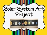 Solar System Art Project