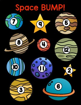 Solar System BUMP! - Perfect for your Outer Space theme!