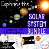 Solar System BUNDLE   Distance Learning Google Classroom