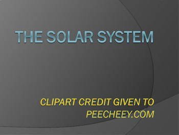 Solar System- Basic Facts