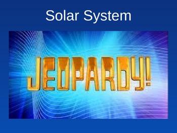 Solar System & Beyond ~ Jeopardy