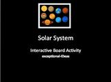 Solar System Board Activity