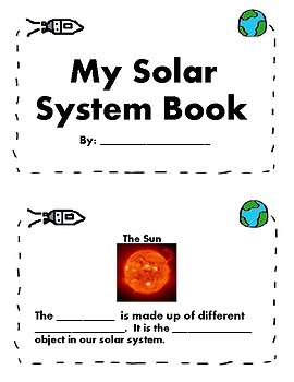Solar System Booklet