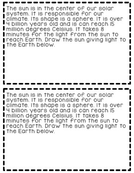 Solar System Booklet {Facts About The Planets And Sun}