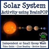 Solar System Activity using BrainPOP