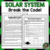 Solar System Break the Code (Escape Room)