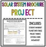Solar System Brochure Project