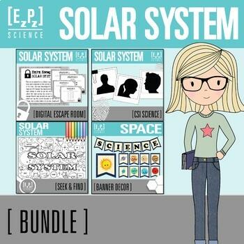 Solar System Science Bundle