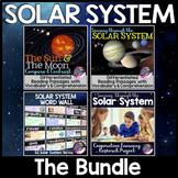 Solar System Unit Bundle: Sun, Moon & Planets Reading Passages, Activities
