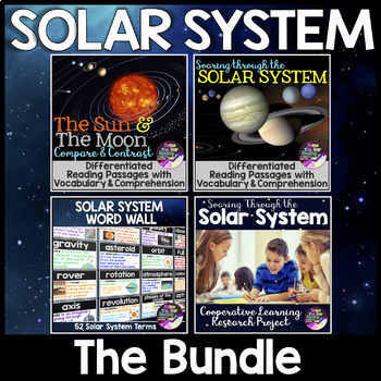 Solar System Unit *Bundle*: Cooperative Research Project &