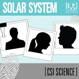 Solar System CSI Science Mystery- Distance Learning